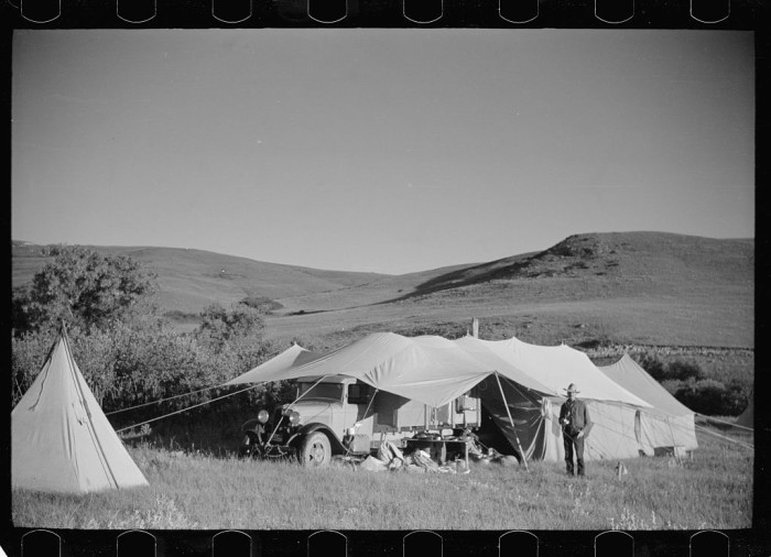 4. Roundup Camp, Bighorn County