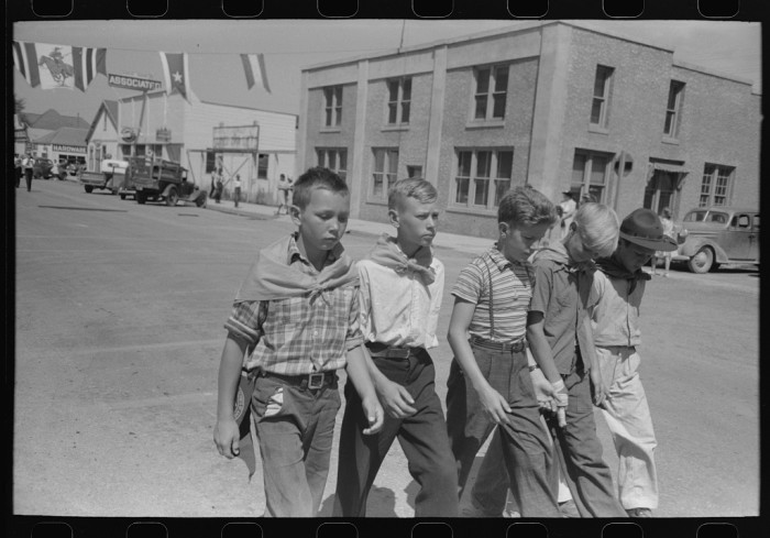 12. Another great shot of the Fourth of July in Vale, 1941.
