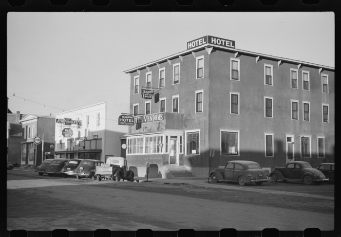 7. This impressive hotel once rose above the rest of the buildings in Rolla, ND.