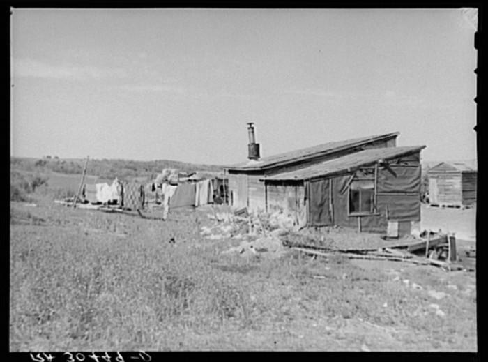 "2. ""Farmhouse near Wheelock, North Dakota"""