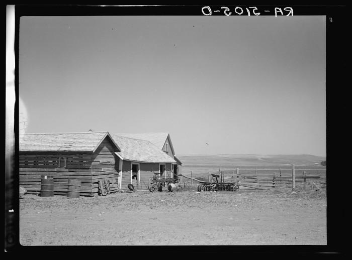 """4. """"Farmyard. Saint Anthony, North Dakota"""""""