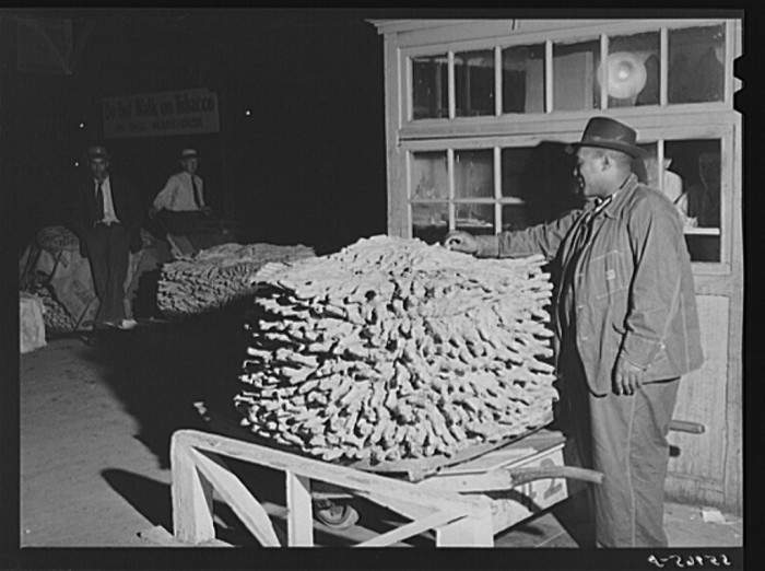 8. Tobacco scales