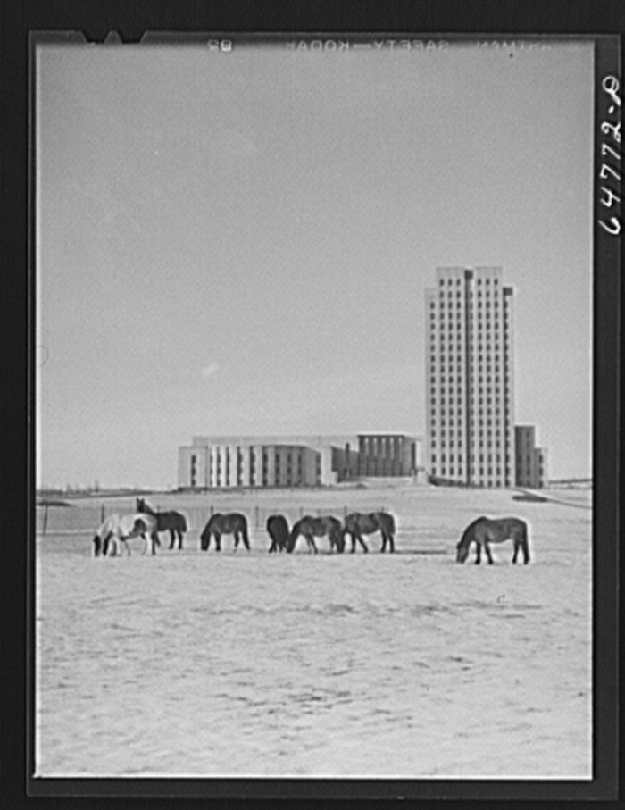 "8. ""Bismarck, North Dakota. State capitol"""
