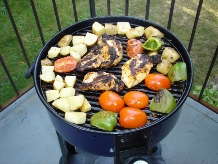 8. The grill-master