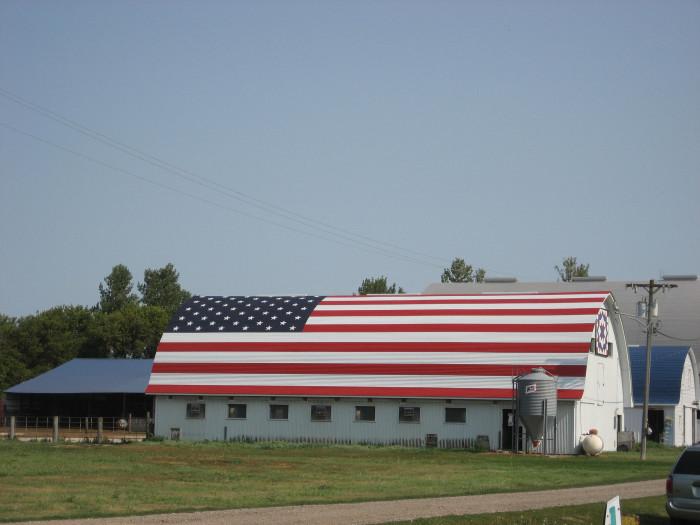 9. Being patriotic