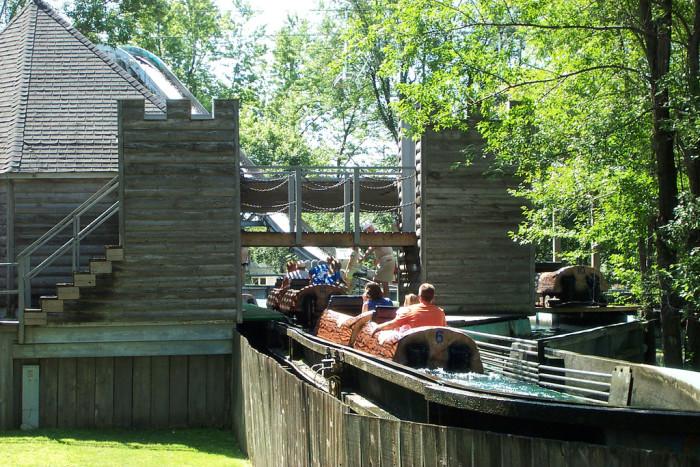 8. Enjoy a day of fun at Adventureland.