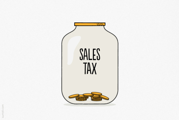 9. You freak out over our sales tax.