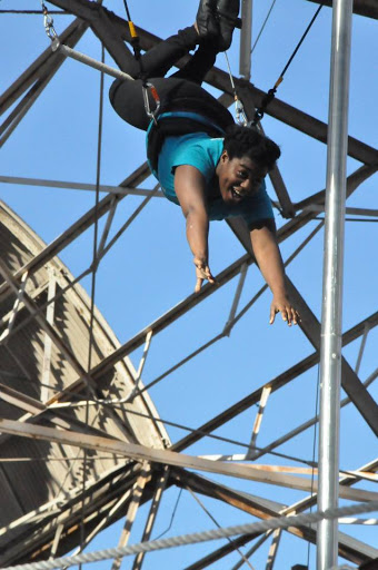 8.	Fly through the air with the greatest of ease at The Circus Harmony Flying Trapeze Center.