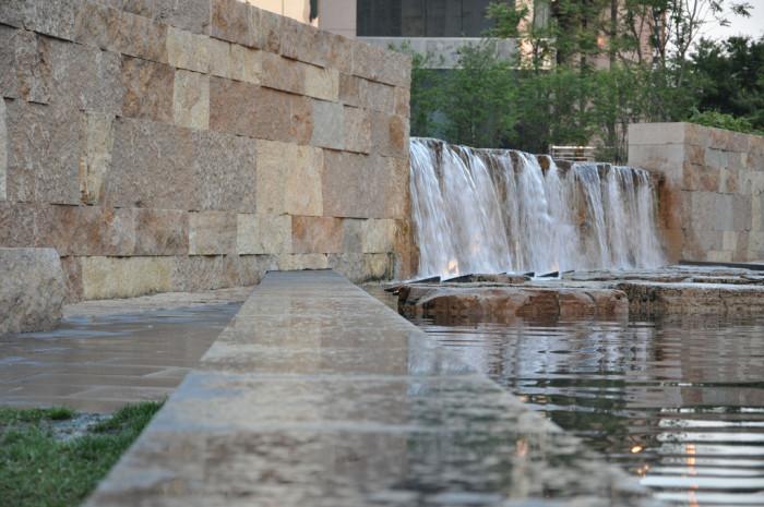 9.City Garden Falls, St. Louis