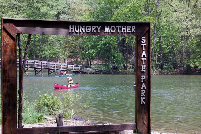 6. Hungry Mother State Park