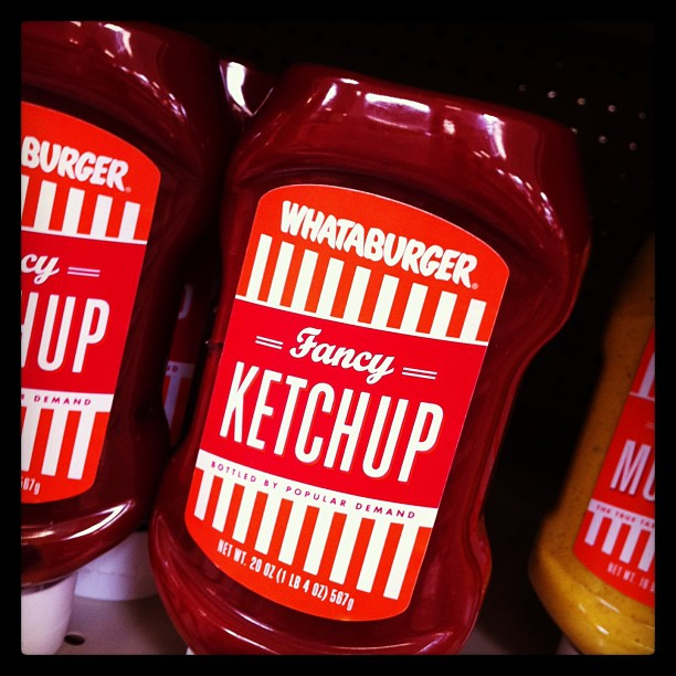 8. And you probably have a bottle (or leftover packets) of their ketchup sitting in your fridge right now.