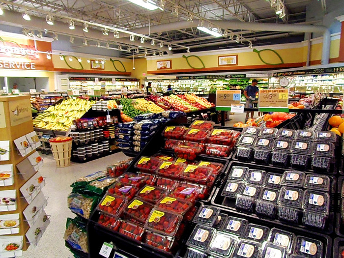 4. Their produce section is always a thing of beauty.