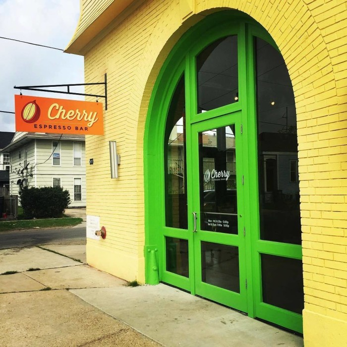8) Cherry Espresso Bar, 4877 Laurel Street