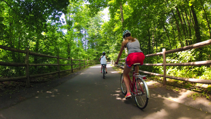 6. Bed and Breakfast Bicycle Trail, Western Connecticut