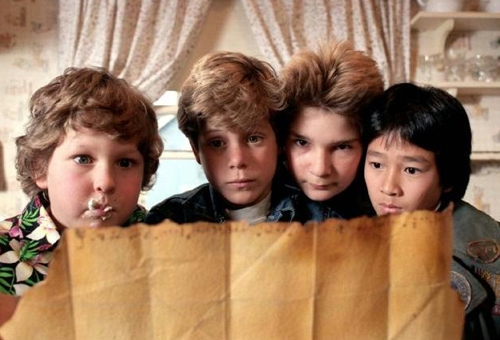 2. How every kid wanted to go on a Goonies-style treasure hunt.