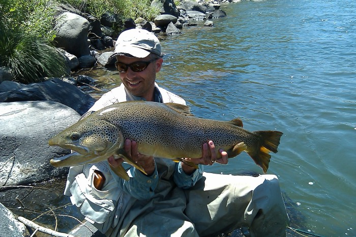 5. ...fishing in one of the Silver State's incredible lakes or rivers.