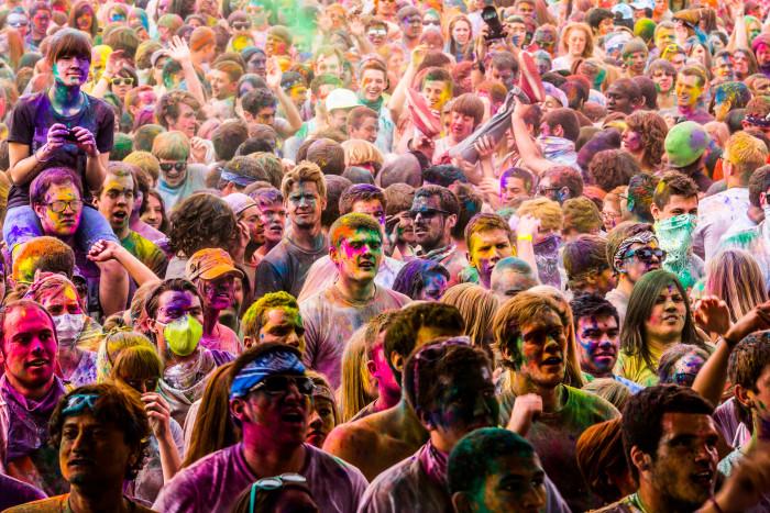 9. Largest Festival of Colors