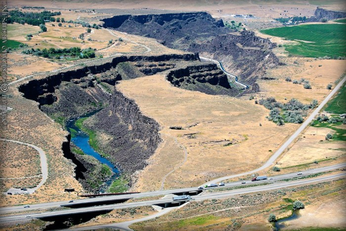 16. Malad Gorge State Park in all of its glory.