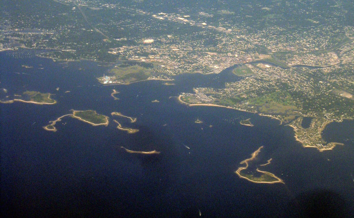 1. The islands off of Southwestern Connecticut.