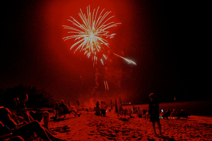 10. Fireworks at Bowers Beach give new meaning to 'the rockets' red glare