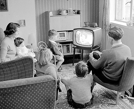 15. We watched television shows as a family, in real time, based on what was in the TV Guide.