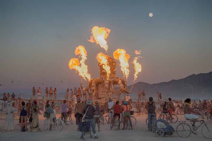 9. Attend Burning Man.