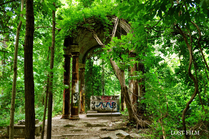 2. The Ruins of St. Mary's College in Ilchester, Maryland.