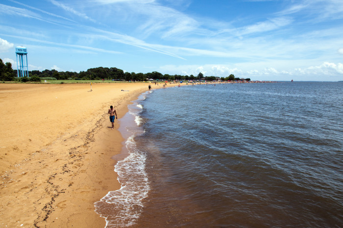 6. Step your toes in the Chesapeake Bay...
