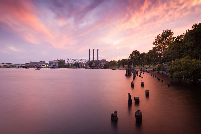 11. India Point Park in Providence might be one of the best places to catch the sunset on camera.