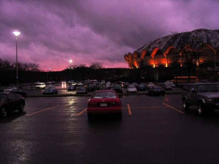 2. WVU Coliseum
