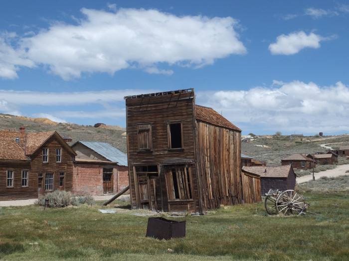 11. The Ghost Town of Bodie, California.