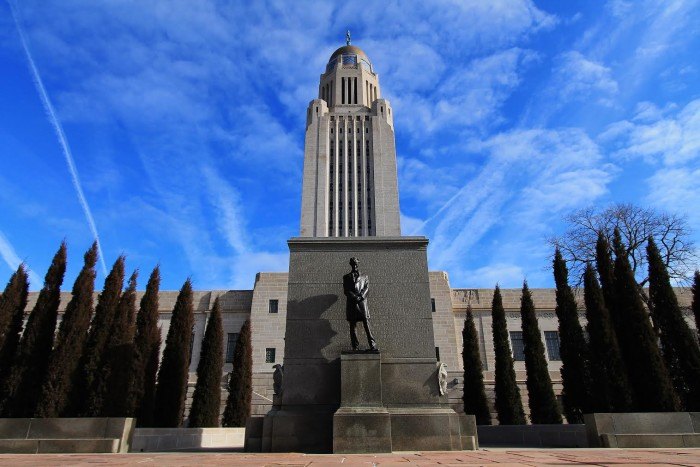 3. State Capitol Building, Lincoln