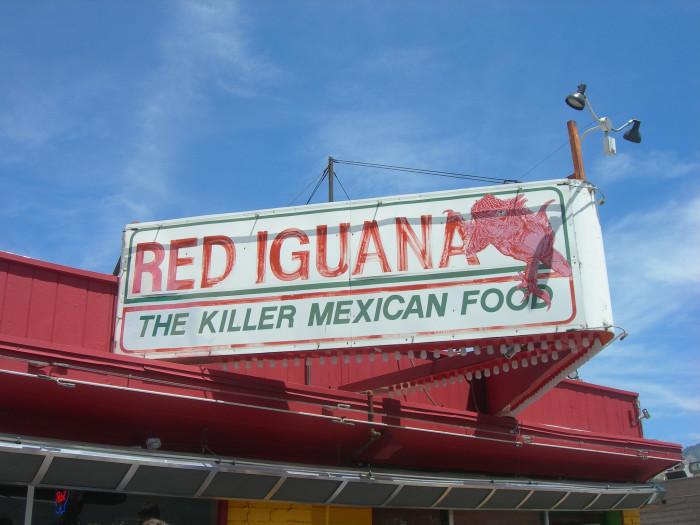 13. Red Iguana, Salt Lake City