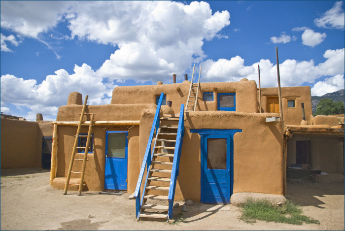 8. Our state has a long history. Taos Pueblo has been occupied on an ongoing basis for 1000 years! It is a UNESCO World Heritage site.