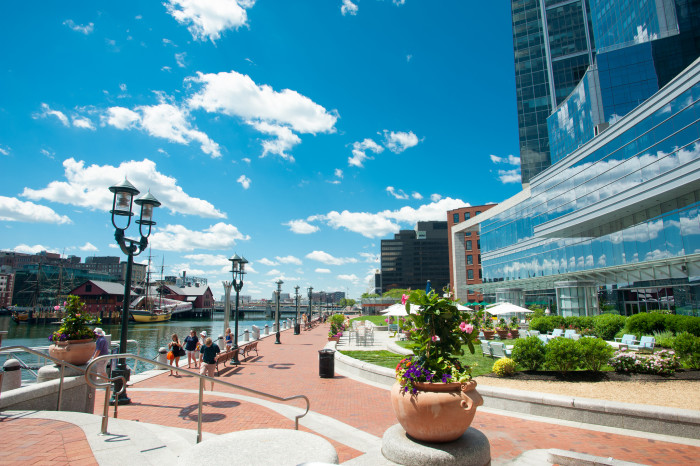 7. There's always an amazing shot waiting to be captured along the waterways of Boston.