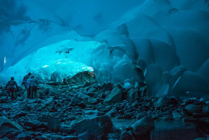 5. The Ice Caves of Mendenhall Glacier, Alaska
