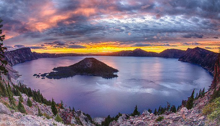 9. Catch the sunset at one of Oregon's natural wonders.