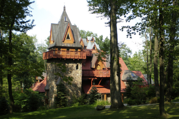 4. Stay at Landoll's Mohican Castle.