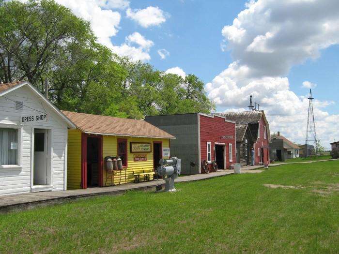 6. Prairie Village Museum - Rugby
