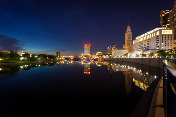 8. Columbus is the third happiest city in the U.S.