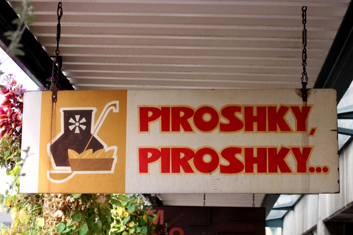 1. Piroshky Piroshky, downtown Seattle, Northgate Mall, South Park