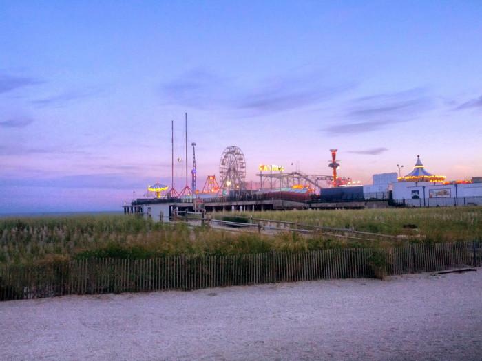 9. Atlantic City's Steel Pier was first opened in 1898.