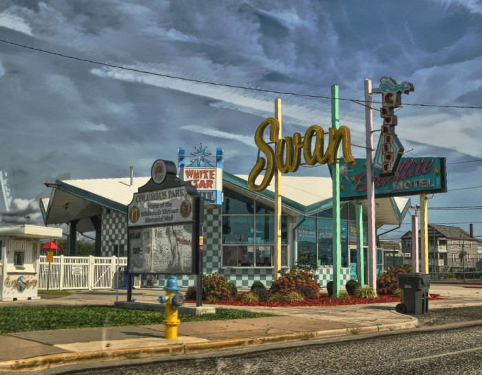 11. Wildwood is home to the largest remaining collection of doo-wop architecture in the United States.