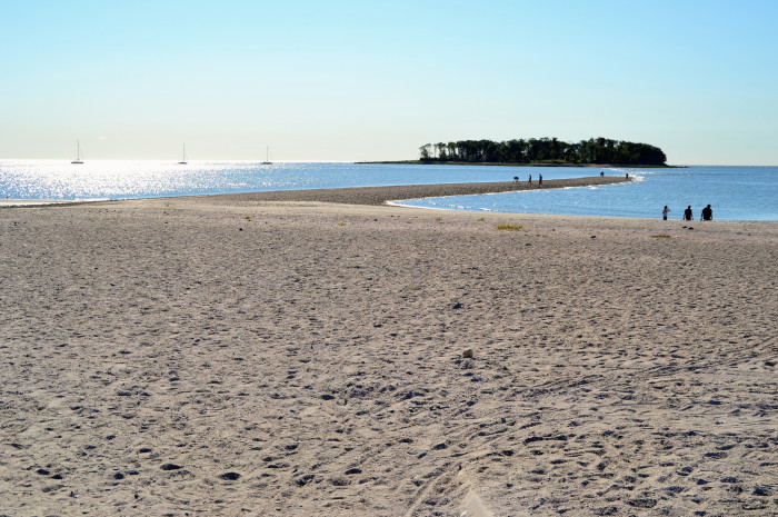 It's Silver Sands State Park in Milford.