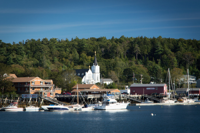6. Boothbay Harbor (Carousel)