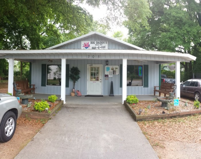 11. Big Daddy's Real Pit Bar-B-Que, 205 N Rawls St, Enterprise, AL 36330