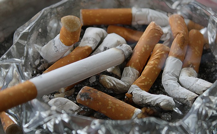 8. A high number of smokers are living in Alabama.