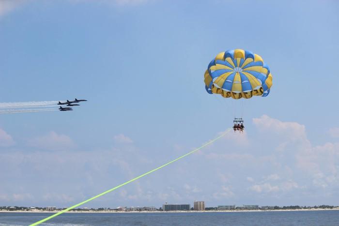 4. Pleasure Island Parasail - Gulf Shores, AL / Orange Beach, AL