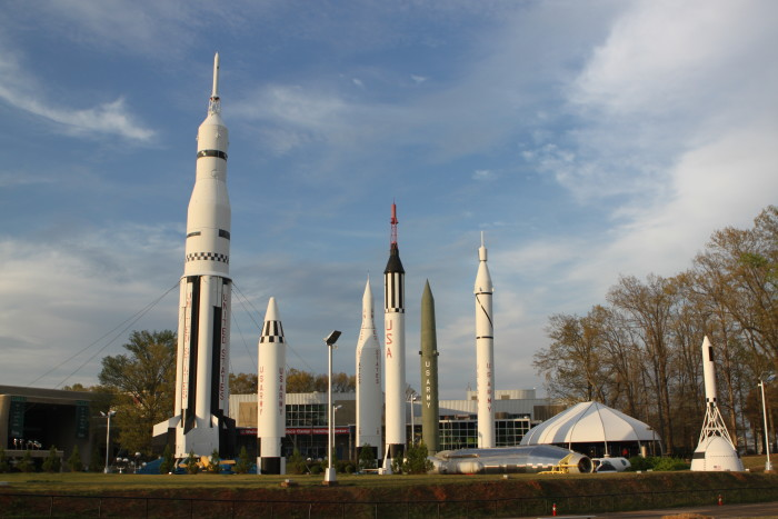 """1. Huntsville isn't only """"The Rocket City."""" It's also """"America's Space Capital."""""""