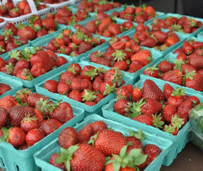 5. Because of numerous farmers markets, Huntsville has no shortage of fresh local produce.